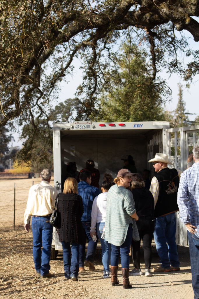 Image of people loading trailer
