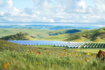 Image of solar panels on Jack Ranch