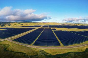 Image of solar fields.